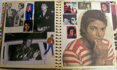 Vintage Michael Jackson Scrapbook - #3 Of 3